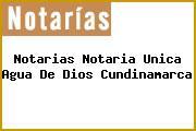 Notarias Notaria Unica Agua De Dios Cundinamarca
