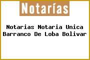 Notarias Notaria Unica Barranco De Loba Bolivar
