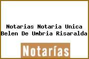 Notarias Notaria Unica Belen De Umbria Risaralda
