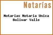 Notarias Notaria Unica Bolivar Valle
