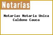 Notarias Notaria Unica Caldono Cauca