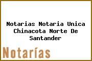 Notarias Notaria Unica Chinacota Norte De Santander