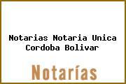 Notarias Notaria Unica Cordoba Bolivar