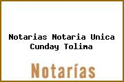 Notarias Notaria Unica Cunday Tolima