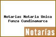 Notarias Notaria Unica Funza Cundinamarca