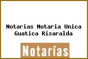 Notarias Notaria Unica Guatica Risaralda