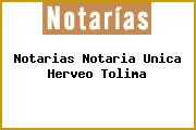 Notarias Notaria Unica Herveo Tolima