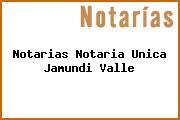 Notarias Notaria Unica Jamundi Valle