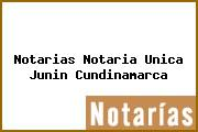 Notarias Notaria Unica Junin Cundinamarca