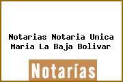 Notarias Notaria Unica Maria La Baja Bolivar
