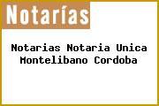 Notarias Notaria Unica Montelibano Cordoba