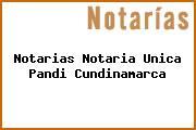 Notarias Notaria Unica Pandi Cundinamarca