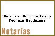 Notarias Notaria Unica Pedraza Magdalena
