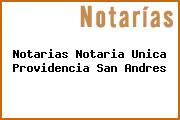 Notarias Notaria Unica Providencia San Andres