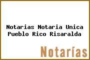 Notarias Notaria Unica Pueblo Rico Risaralda