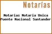 Notarias Notaria Unica Puente Nacional Santander