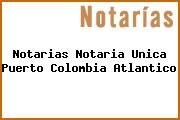 Notarias Notaria Unica Puerto Colombia Atlantico