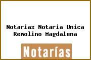 Notarias Notaria Unica Remolino Magdalena