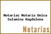 Notarias Notaria Unica Salamina Magdalena