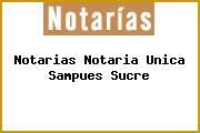Notarias Notaria Unica Sampues Sucre