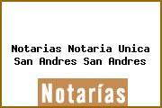 Notarias Notaria Unica San Andres San Andres