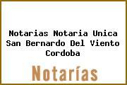 Notarias Notaria Unica San Bernardo Del Viento Cordoba
