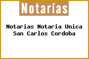 Notarias Notaria Unica San Carlos Cordoba