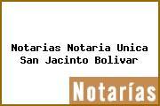 Notarias Notaria Unica San Jacinto Bolivar