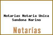 Notarias Notaria Unica Sandona Narino