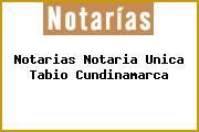 Notarias Notaria Unica Tabio Cundinamarca