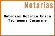 Notarias Notaria Unica Tauramena Casanare