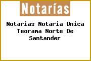 Notarias Notaria Unica Teorama Norte De Santander