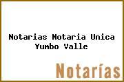 Notarias Notaria Unica Yumbo Valle