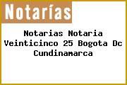 Notarias Notaria Veinticinco 25 Bogota Dc Cundinamarca