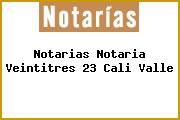 Notarias Notaria Veintitres 23 Cali Valle
