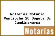 Notarias Notaria Ventiocho 28 Bogota Dc Cundinamarca