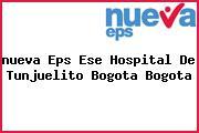 <i>nueva Eps Ese Hospital De Tunjuelito Bogota Bogota</i>