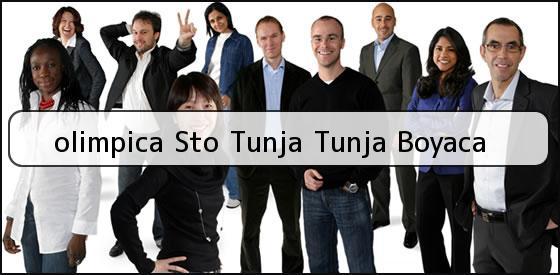 <b>olimpica Sto Tunja Tunja Boyaca</b>