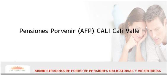 Teléfono, Dirección y otros datos de contacto para Pensiones Porvenir (AFP) CALI, Cali, Valle , Colombia