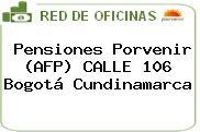 Pensiones Porvenir (AFP) CALLE 106 Bogotá Cundinamarca