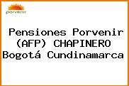 Pensiones Porvenir (AFP) CHAPINERO Bogotá Cundinamarca