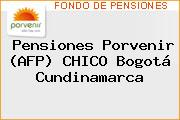 Pensiones Porvenir (AFP) CHICO Bogotá Cundinamarca