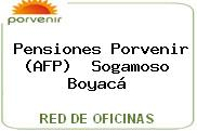 Pensiones Porvenir (AFP)  Sogamoso Boyacá