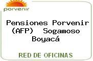 Teléfono y Dirección de Pensiones Porvenir (AFP) , Sogamoso, Boyacá, Colombia