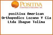 <i>positiva American Orthopedics Lozano Y Cia Ltda Ibague Tolima</i>