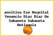 <i>positiva Ese Hospital Venancio Diaz Diaz De Sabaneta Sabaneta Antioquia</i>