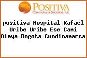 <i>positiva Hospital Rafael Uribe Uribe Ese Cami Olaya Bogota Cundinamarca</i>