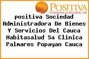 <i>positiva Sociedad Administradora De Bienes Y Servicios Del Cauca Habitasalud Sa Clinica Palmares Popayan Cauca</i>