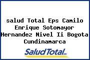 <i>salud Total Eps Camilo Enrique Sotomayor Hernandez Nivel Ii Bogota Cundinamarca</i>
