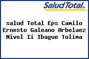 <i>salud Total Eps Camilo Ernesto Galeano Arbelaez Nivel Ii Ibague Tolima</i>